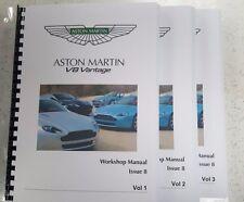 aston martin car workshop manuals aston martin v8 vantage workshop manual a4 full colour issue 8 05 to 13 models