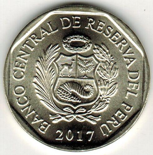 crocodile Peru 2017 Coin 1 Sol Endangered Wildlife Cocodrilo de Tumbes