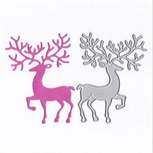 Stanzschablone-Elch-Vater-Bock-Weihnachten-Hochzeit-Oster-Geburtstag-Karte-Album