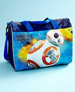6e1539f252 New Children s Star Wars BB-8 Licensed Overnight Travel Bag for ...