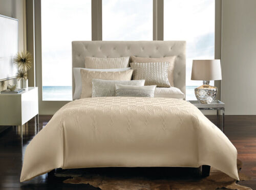 Hotel Collection Crystalle King Bedskirt Dust Ruffle Champagne