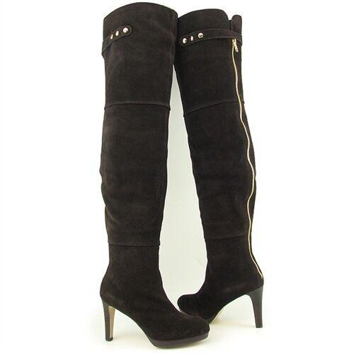 New Kelsi Dagger suede over knee boots UK3,5 US6 RRP