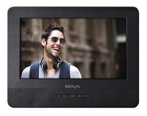 Odys-Seal-7-Zoll-TWIN-portabler-DVD-Player-Auto-Car-2-Bildschirmen-SD-Card-USB