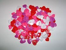 Valentine Scatter Heart Button Decoration Lillian Vernon 1/4 Pound