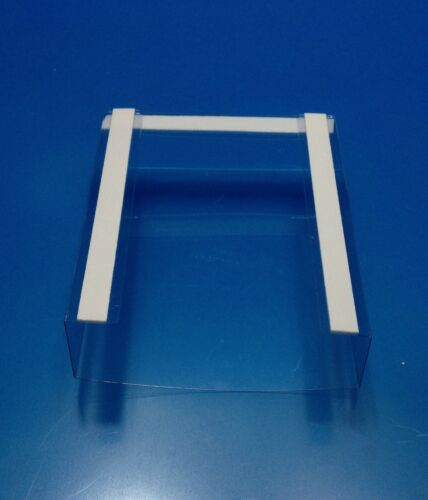 These will mount to any flat surface! 20 Clear tri fold brochure holders NEW