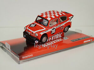 "Slot SCX Scalextric 6385 Fiat Abarth 1000 ""Sony Racing Team"""