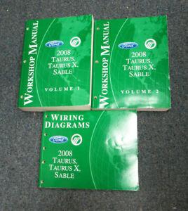 2008 ford taurus wiring diagram 2008 ford taurus taurus x mercury sable service repair manual  2008 ford taurus taurus x mercury sable
