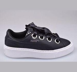 scarpe puma platform nere
