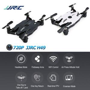 JJRC-H49-Wi-Fi-FPV-SELFIE-Vehiculo-aereo-no-tripulado-720P-HD-Video-camara