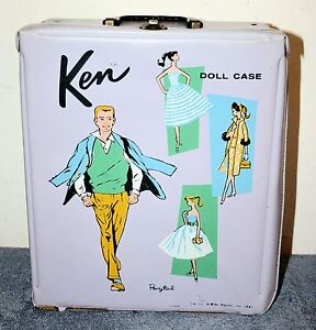 Details about Vintage Ken Doll Case with Assorted Doll Parts \u0026 More , 1961  Mattel