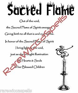 Sacred-Flame-Blessing-Spell-for-Wicca-Book-of-Shadows-Pagan-Occult-Ritual
