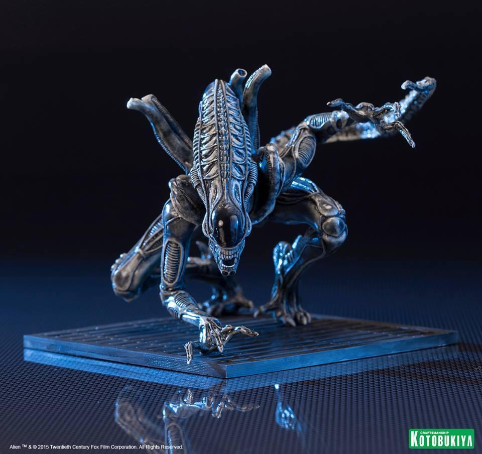 Aliens Estatua PVC ARTFX+ 1 10 Alien Warrior Drone 15 cm KOTOBUKIYA