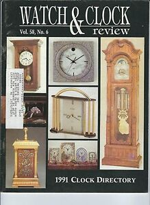 MF-111 - Watch & Clock Review Magazine, 1991 Vol 58, no 6, Blancpain, L'Epee