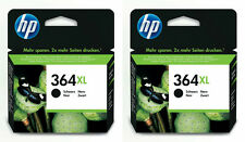 Genuine HP 364XL Black Twin Pack Ink Cartridges 2x CN684EE High Capacity XL