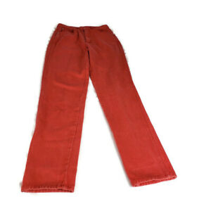 Vintage-High-Rise-Mom-Jean-Gitano-Blue-Jeans-Size-6-7-Long-Red