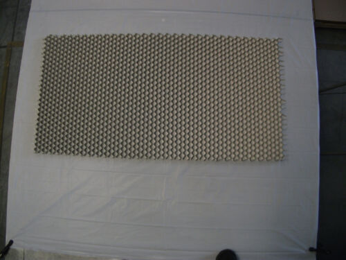 "24 x 24 T=.50 Aluminum Honeycomb Sheet // Honeycomb Grid Core 1/"" cell"