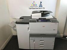 Ricoh Lanier Aficio MP C6502 Color Copier Printer Scanner Finisher LOW 615k page