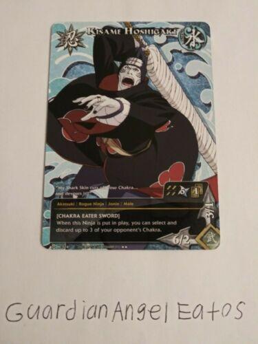 - near mint promo Kisame Hoshigaki Naruto TCG//CCG Chakra Eater Sword