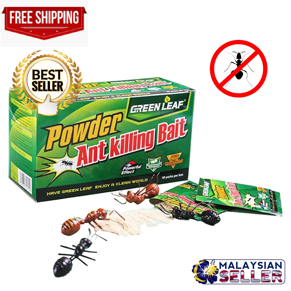 Cockroach Killer Powder How To Get Rid of Roach Best Killing Bait Work Fast 50PC