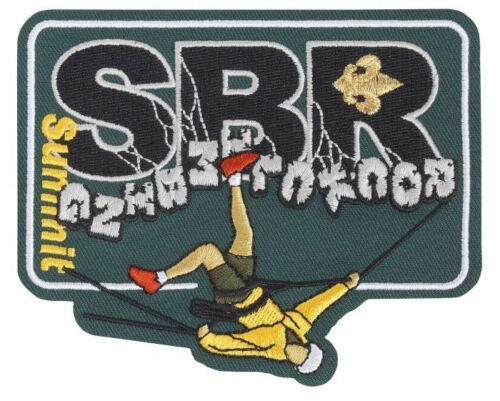 2017 BSA NATIONAL JAMBOREE ROCK CLIMBING SBR SUMMIT PATCH JAMBO EMBLEM BRAND NEW