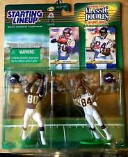1999 Randy Moss/Cris Carter Classic Doubles SLU w 2 Football Cards Minn. Vikings