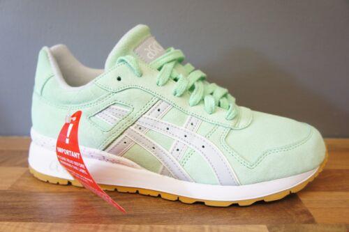 Gt daim taille vert 7 Asics running blanc gym ii femme 1dXqF