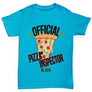 Twisted-Envy-officiel-Pizza-inspecteur-du-Garcon-Drole-T-Shirt