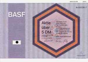 BASF-AG-1996-Ludwigshafen-Rhein-Badische-Anilin-Soda-Fabrik-IG-Farben-5-DM-Deko