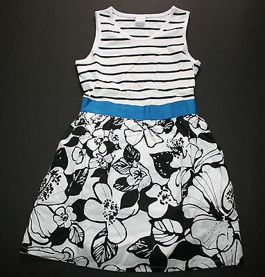 NWT Gymboree Blue Safari Layer Eyelet Dress SZ 5 6 7 8 10 Girls