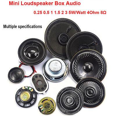 2pc 29mm 8Ohm 8Ω 0.25W Audio Speaker Stereo Woofer Loudspeaker Trumpet Horn USA