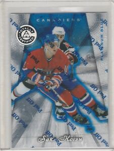 1997-98-Totally-Certified-Platinum-Blue-44-Saku-Koivu-Montreal-Canadiens