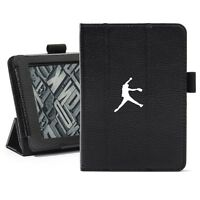 Kindle Paperwhite Leather Cover Case Auto Sleep Stand Female Softball Pitcher
