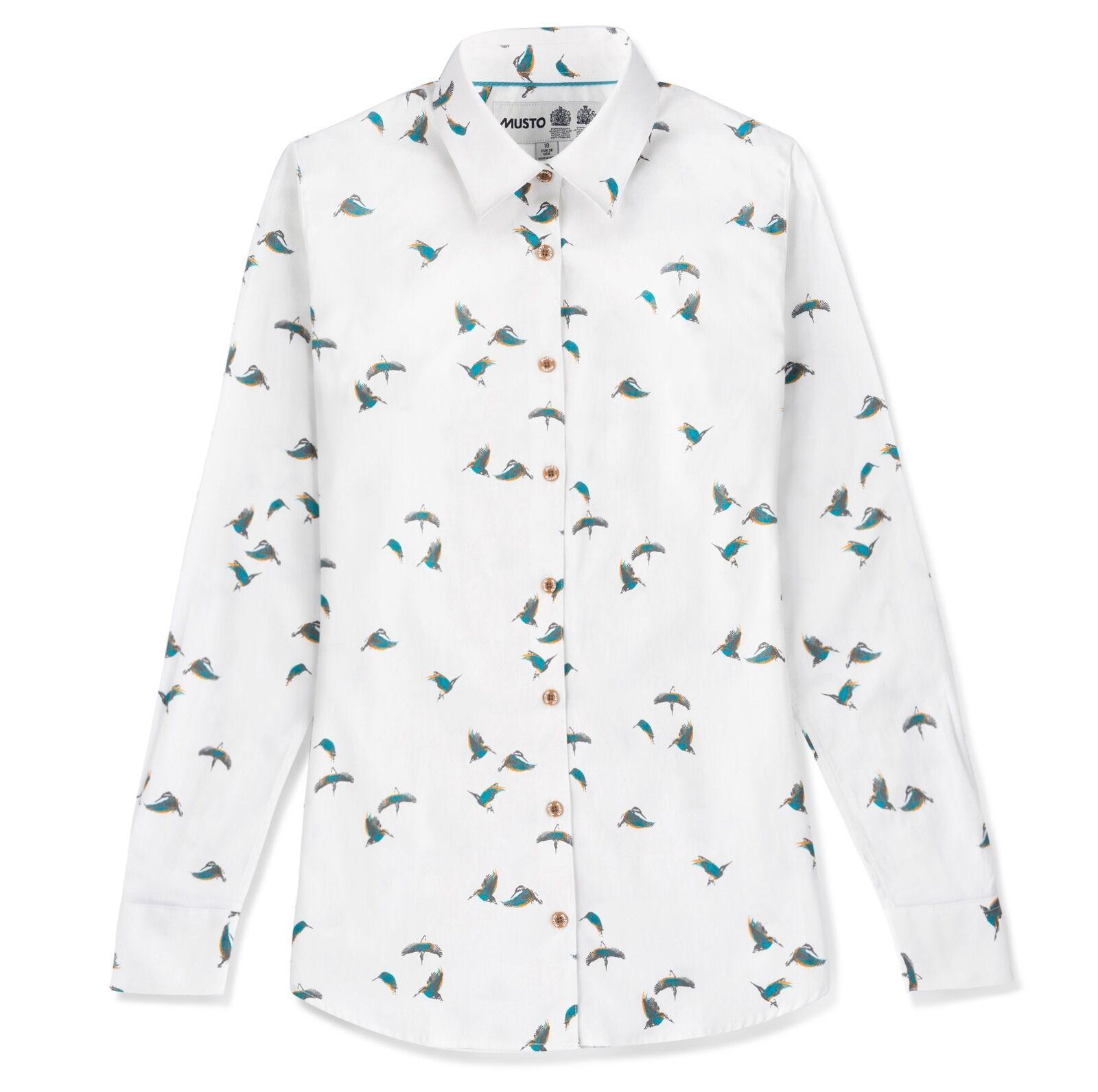 damen Musto Country Printed Shirt - CS2330 - all Größes - new