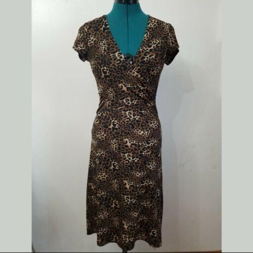 BCBGMaxAzria Leopard Print Dress