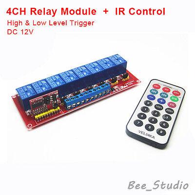 12v 8 Ch Channel Ir Infrared Remote Control Switch Relay Module Board Arduino 51 Ebay