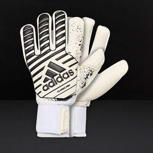 Helecho Soportar Popular  New Adidas Classic Pro Goalkeeper Golie Soccer Gloves Keeper White-Black  CW5616   eBay