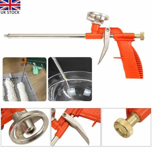 2x Professional PU Expanding Foam Gun Applicator Application Heavy Duty Plat UK