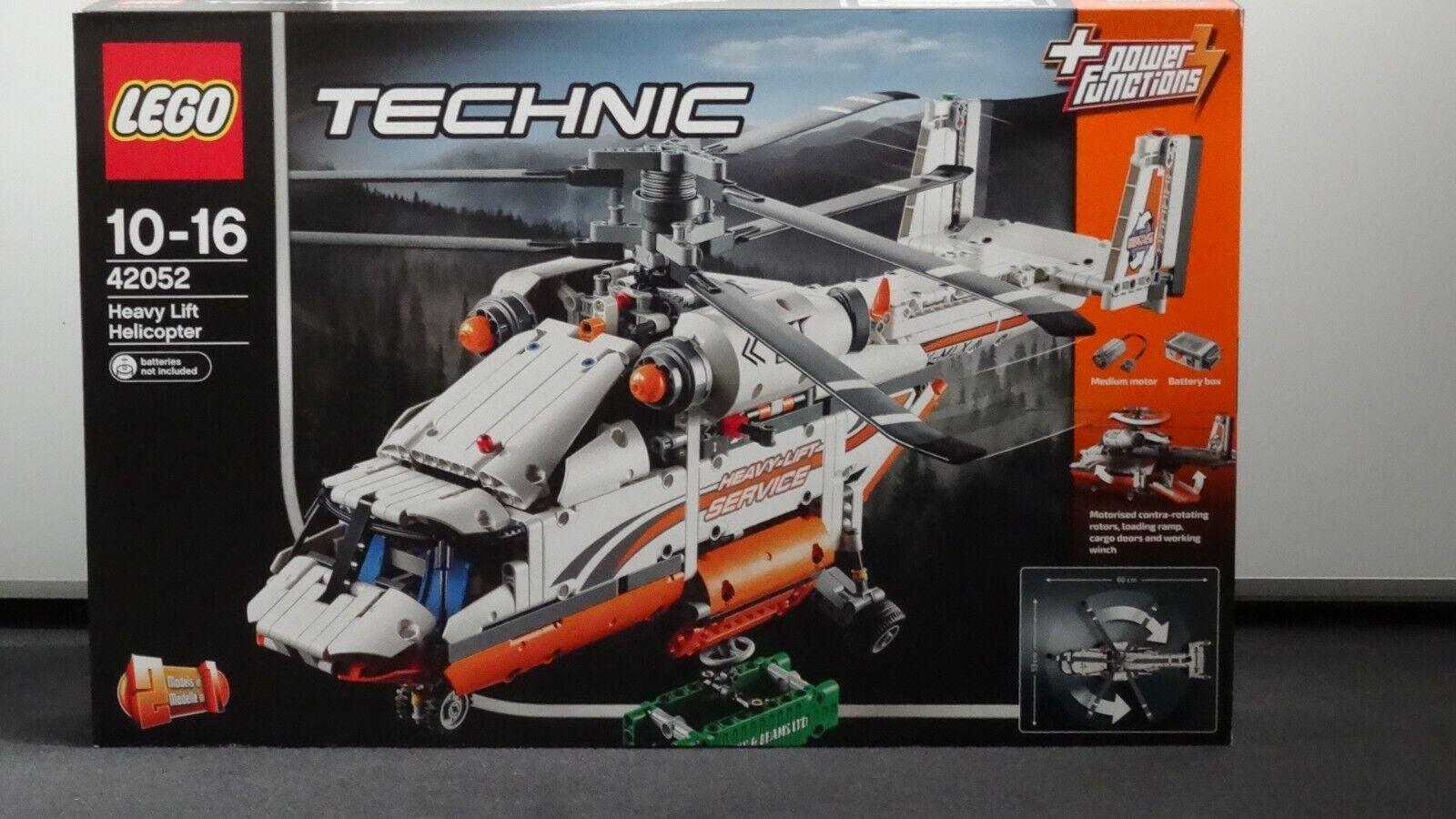 LEGO Technic - Schwerlasthubschrauber (42052) Neu und OVP
