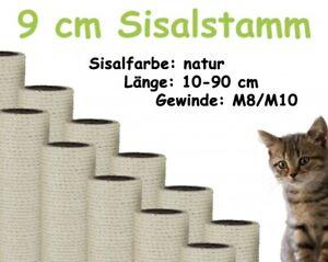 9-cm-Sisalstamm-Ersatzstamm-fuer-Kratzbaum-10-90-cm-M8-M10