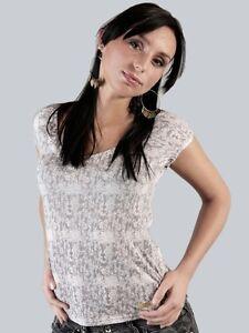 Dickies-T-Shirt-034-Esther-Women-Tee-034-T-Shirt-grau-Groessen-S-M