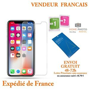 Vitre-de-protection-VERRE-TREMPE-film-protecteur-ecran-iPhone-XS-MAX-X-XR-8-7-6