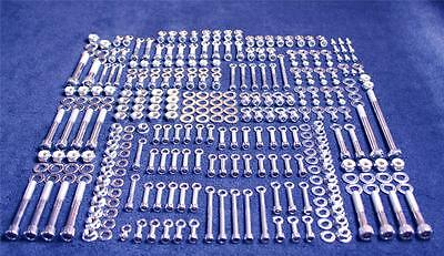 HONDA CR500 361 PIECE POLISHED STAINLESS STEEL BOLT KIT 1990-1997 CR 500