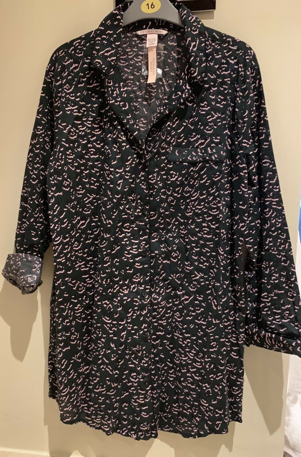 ff222ed97f08 Brand New Tagged Ladies Victoria's Secret Button Front Night Shirt Size Xs