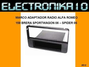 MARCO-SOPORTE-AUTO-RADIO-ALFA-ROMEO-159-BRERA-SPORTWAGON-SPIDER-2006