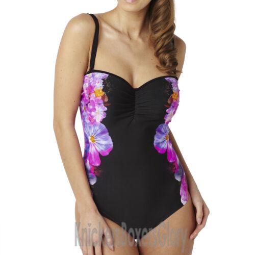Panache Swimwear Savannah Bandeau Swimsuit Floral Print SW0780 NEW Select Size
