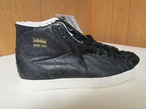 cheap for discount a7d12 b79fa Image is loading adidas-Black-Hi-Top-Sneakers-BASKET-PROFI-EAGLE-