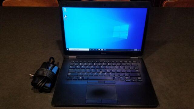Dell Latitude E7470 Ultrabook Intel Core i5-6300U 2.40GHz 8GB RAM 256GB SSD W10