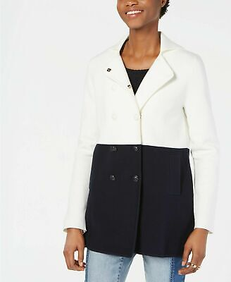 Tommy Hilfiger Womens Colorblocked Pea, Tommy Hilfiger Peacoat Women S