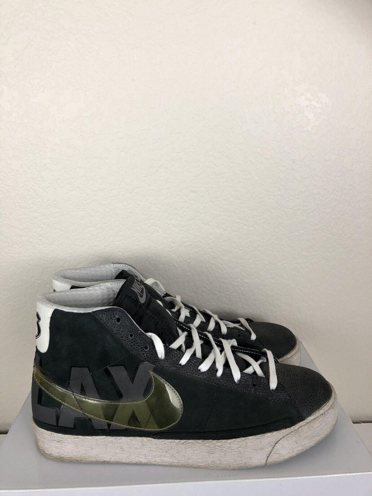 Nike Blazer High Top LAX Blazers Off White Grey 213 Sneakers 10.5
