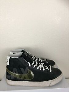 finest selection 4b21a 962ab Details about Nike Blazer High Top LAX Blazers Off White Grey 213 Sneakers  10.5